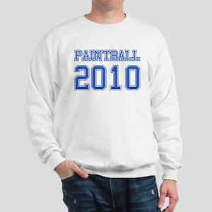 """""""Paintball 2010"""" Sweatshirt"""