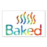 Baked Sticker (Rectangle)