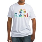Baked Fitted T-Shirt