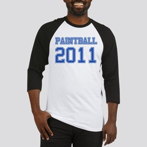 """Paintball 2011"" Baseball Jersey"