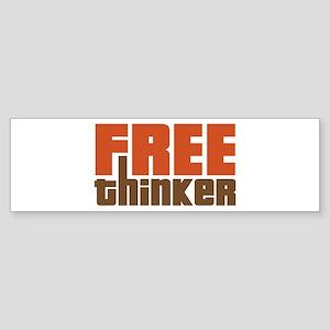 Free Thinker Sticker (Bumper)
