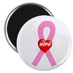 Pink Hope Magnet