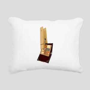 BusinessTravelMinder0802 Rectangular Canvas Pillow