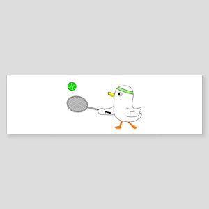 Tennis Player Sticker (Bumper)
