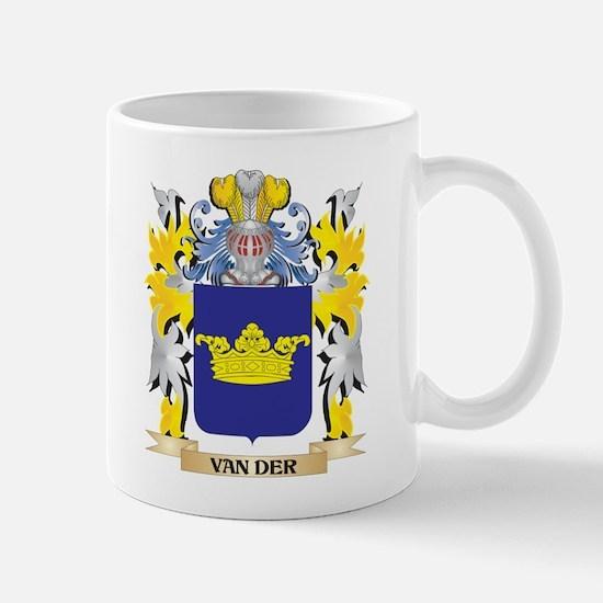 Van-Der Family Crest - Coat of Arms Mugs