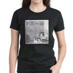 Jeopardy Squirrel - no text Women's Dark T-Shirt