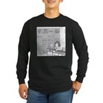 Jeopardy Squirrel - no text Long Sleeve Dark T-Shi