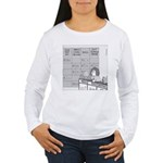 Jeopardy Squirrel - no text Women's Long Sleeve T-