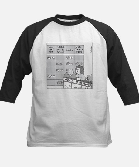 Jeopardy Squirrel - no text Kids Baseball Jersey