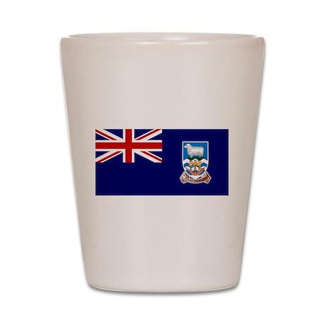 Falkland Islands Shot Glass