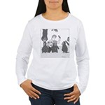 Monkey Island - no text Women's Long Sleeve T-Shir