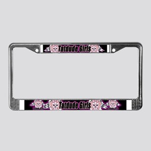 Tatdude Girls License Plate Frame
