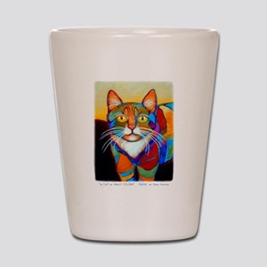 Cat-of-Many-Colors Shot Glass