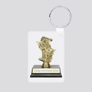 Coping With Disaster Award Aluminum Photo Keychain