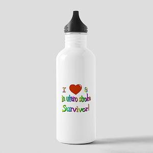 Love in utero survivor Stainless Water Bottle 1.0L