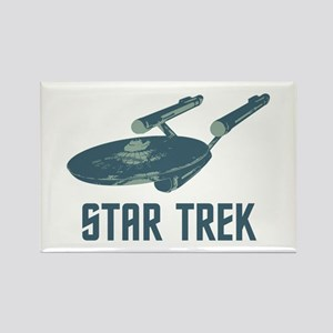 Retro Enterprise Rectangle Magnet (10 pack)
