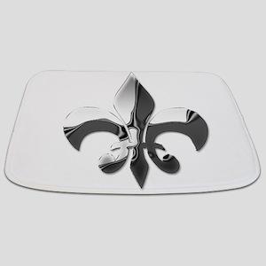 FleurdeLisChrome Bathmat
