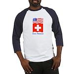 Swiss American Baseball Jersey