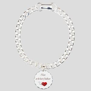 Heart of Healthcare Charm Bracelet, One Charm
