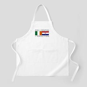 Irish Croatian flags Apron
