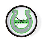 Lucky Enuf Wall Clock