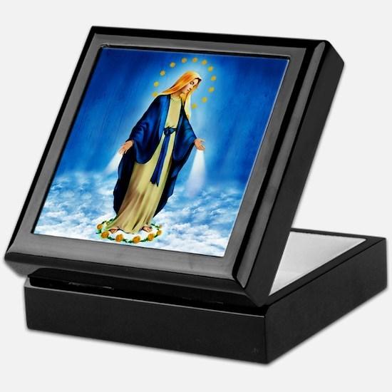 Unique Catholic Keepsake Box