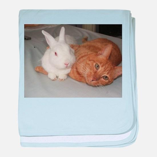 Bunny_Cat baby blanket