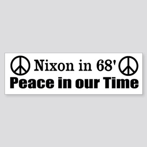 Nixon Bumper Sticker