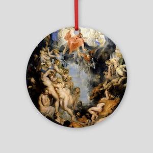 The Last Judgement Ornament (Round)