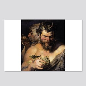 Two Satyrs Postcards (Package of 8)