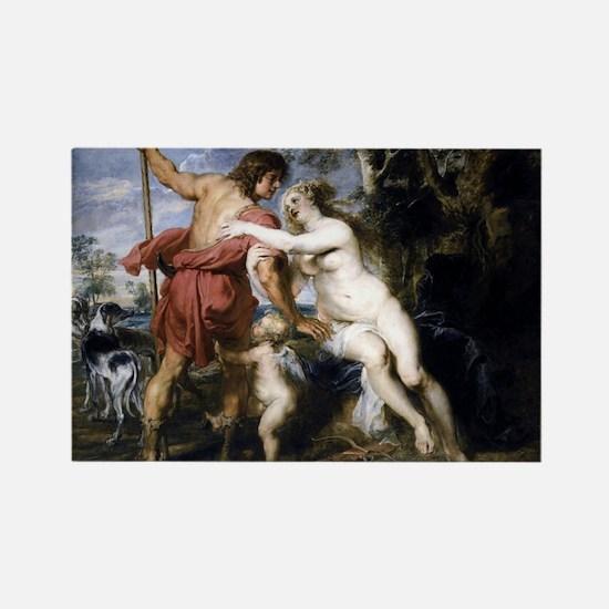Venus and Adonis Rectangle Magnet
