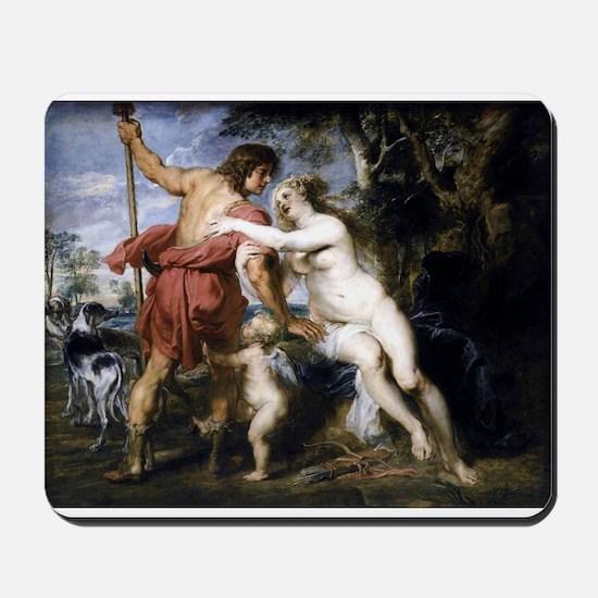 Venus and Adonis Mousepad