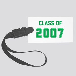 Class of 2007 Green Luggage Tag
