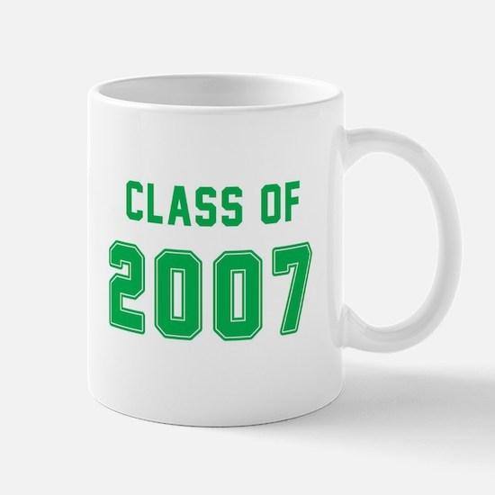 Class of 2007 Green Mugs