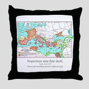 CANE Roman Republic Map Throw Pillow