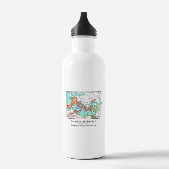 CANE Roman Republic Map Water Bottle