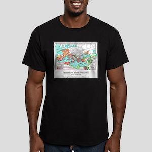 CANE Roman Republic Map Men's Fitted T-Shirt (dark