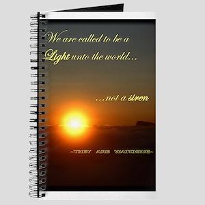 Light unto the World Journal