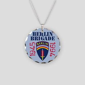 BerlinBrigade.com Necklace Circle Charm