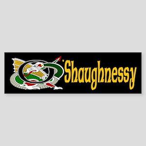 O'Shaughnessy Celtic Dragon Bumper Sticker