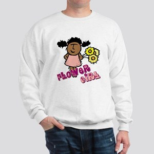 Ethnic Flowergirl Sweatshirt