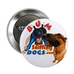 Bum Sniffing Dogs Button