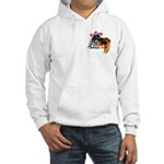 Bum Sniffing Dogs Hooded Sweatshirt