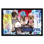Bum Sniffing Dogs Large Poster