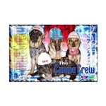 Bum Sniffing Dogs Mini Poster Print