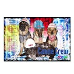 Bum Sniffing Dogs Postcards (Package of 8)