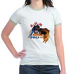 Bum Sniffing Dogs Jr. Ringer T-Shirt