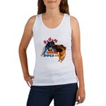 Bum Sniffing Dogs Women's Tank Top