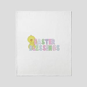 Easter Blessings Throw Blanket