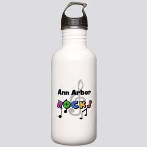 Ann Arbor Rocks Stainless Water Bottle 1.0L